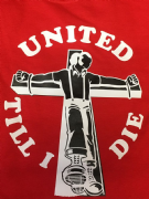 UNITED TILL I DIE T-SHIRT (Red)